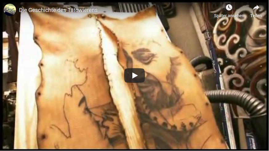 Youtube-Video Die Geschichte des Tätowierens